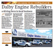 Dalby Engine Rebuilders - celebrating Dalby's 150 years